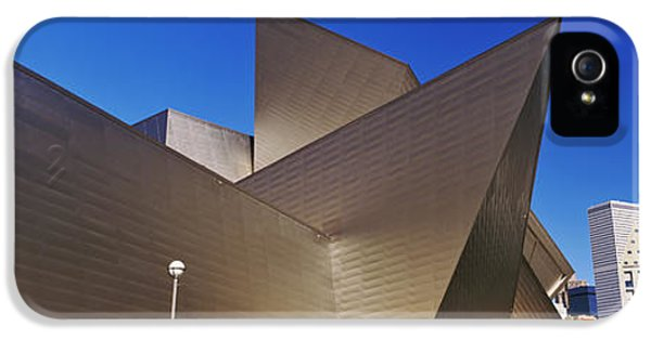 Art Museum In A City, Denver Art IPhone 5 Case by Panoramic Images