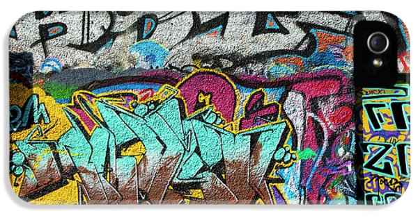Artistic Graffiti On The U2 Wall IPhone 5 Case by Panoramic Images