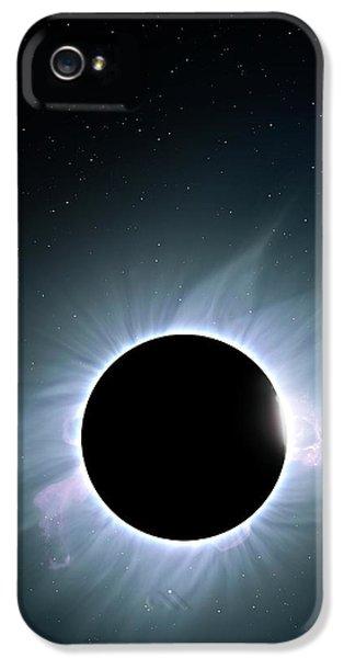 Artwork Of Solar Corona IPhone 5 Case