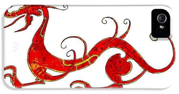 Asian Dragon IPhone 5 Case by Michael Vigliotti