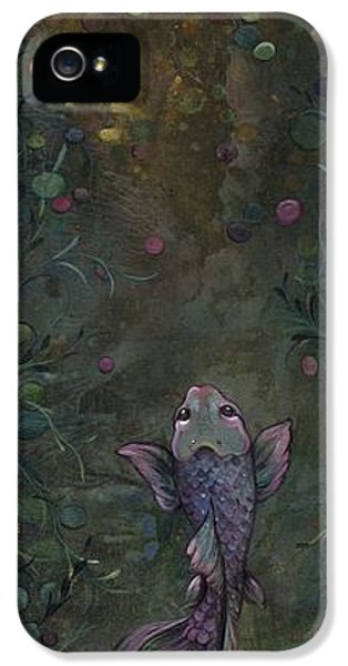 Koi iPhone 5 Case - Aspiration Of The Koi by Shadia Derbyshire