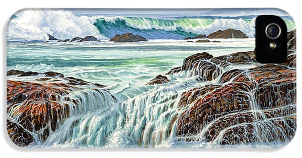 Pacific Ocean iPhone 5 Case - At Point Lobos by Paul Krapf