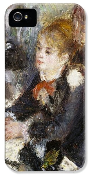 At The Milliner's IPhone 5 Case by Pierre-Auguste Renoir