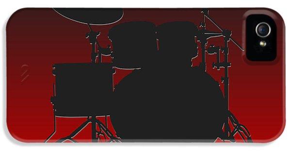 Atlanta Falcons Drum Set IPhone 5 Case by Joe Hamilton