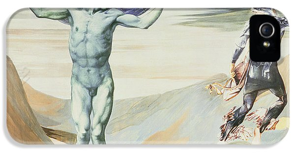Atlas Turned To Stone, C.1876 IPhone 5 / 5s Case by Sir Edward Coley Burne-Jones