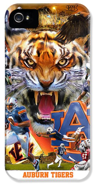 Auburn Tigers IPhone 5 Case