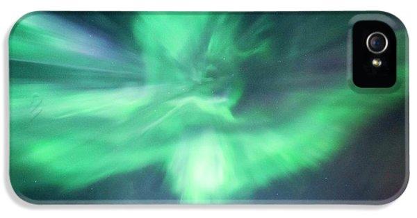 Aurora Borealis Corona IPhone 5 Case by Dr Juerg Alean