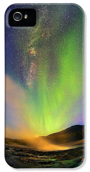 Aurora Borealis IPhone 5 Case by Juan Carlos Casado (starryearth.com)