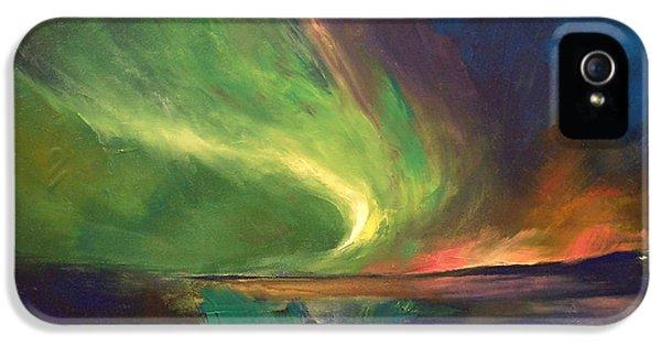 Aurora Borealis IPhone 5 Case by Michael Creese