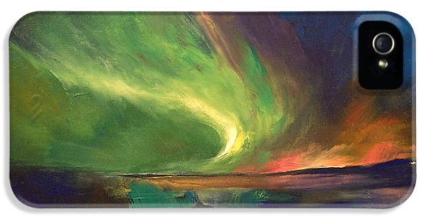 Aurora Borealis IPhone 5 Case by Michael Creese