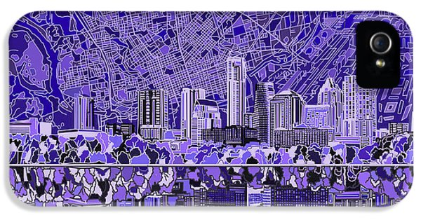 Austin Texas Skyline 4 IPhone 5 Case