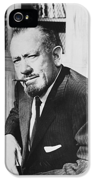 Author John Steinbeck IPhone 5 Case by Underwood Archives