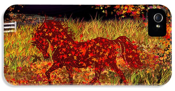 Autumn Horse Bewitched IPhone 5 Case