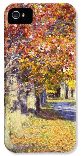 Autumn In Hyde Park IPhone 5 Case