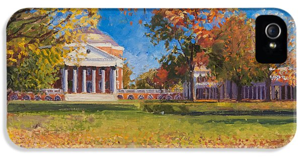 Autumn On The Lawn IPhone 5 Case