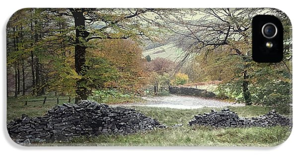 Autumnal Colours Near Fernilee Reservoir IPhone 5 Case by Litz Collection