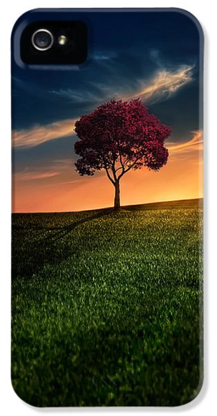 Weather iPhone 5 Case - Awesome Solitude by Bess Hamiti