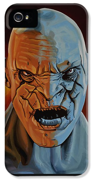 Azog The Orc Painting IPhone 5 Case by Paul Meijering