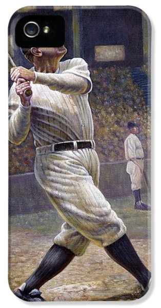 Babe Ruth IPhone 5 Case by Gregory Perillo