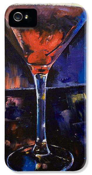 Backstage Martini IPhone 5 Case by Michael Creese