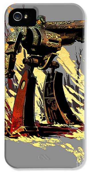 Bad Robot IPhone 5 Case by Brian Kesinger