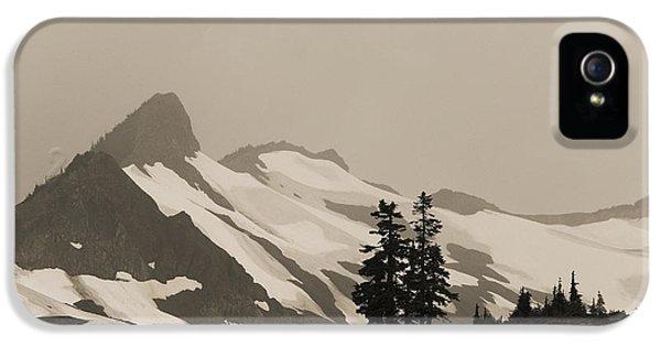 Fog In Mountains IPhone 5 Case by Yulia Kazansky