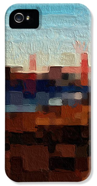 Baker Beach IPhone 5 Case by Linda Woods
