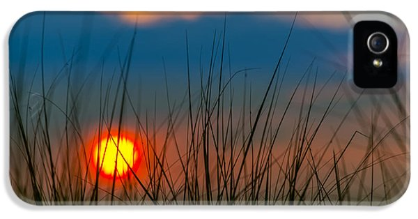 Ball Of Fire IPhone 5 Case by Sebastian Musial