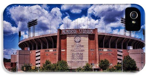 Baltimore Memorial Stadium 1960s IPhone 5 Case