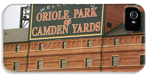 Baltimore Orioles Park At Camden Yards IPhone 5 Case