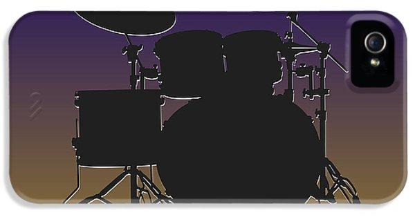 Baltimore Ravens Drum Set IPhone 5 Case by Joe Hamilton
