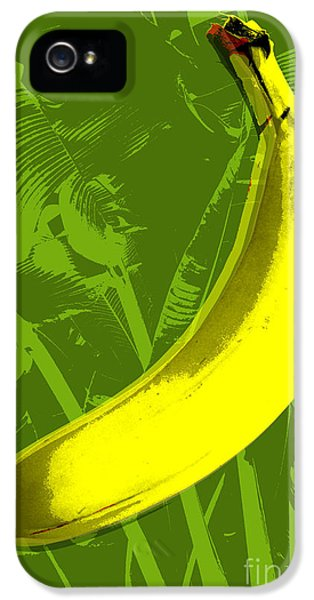 Banana Pop Art IPhone 5 / 5s Case by Jean luc Comperat