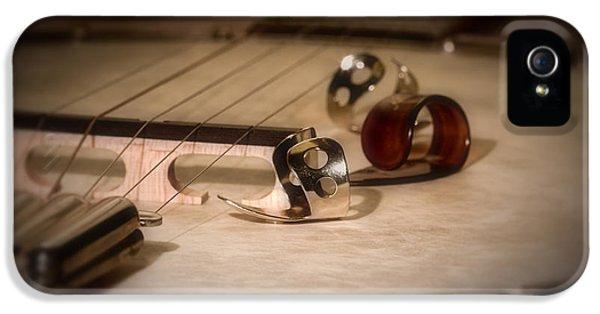Drum iPhone 5 Case - Banjo by Tom Mc Nemar