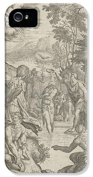 Baptism Of Christ, Egidius Horbeck IPhone 5 Case