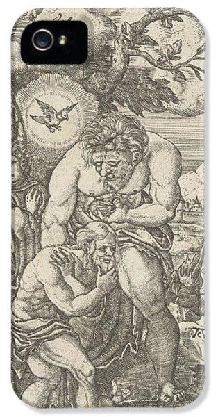 Baptism Of Christ In The Jordan, Monogrammist Ac 16e Eeuw IPhone 5 Case