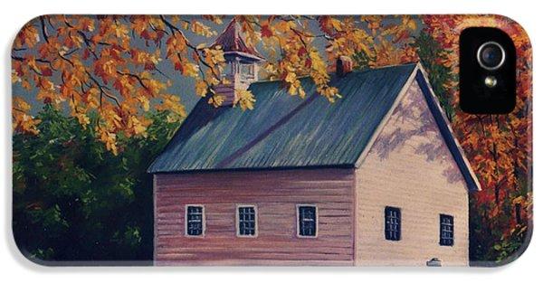 Baptist Church  Cades Cove IPhone 5 Case by John Clark