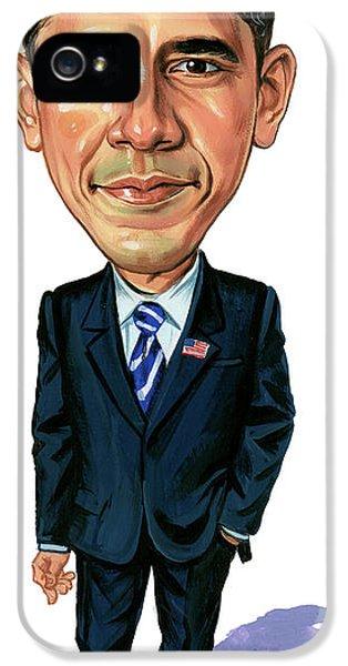 Barack Obama IPhone 5 Case by Art