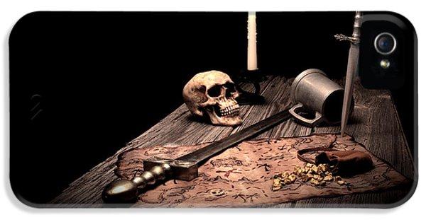 Barbarian Quest IPhone 5 Case by Tom Mc Nemar