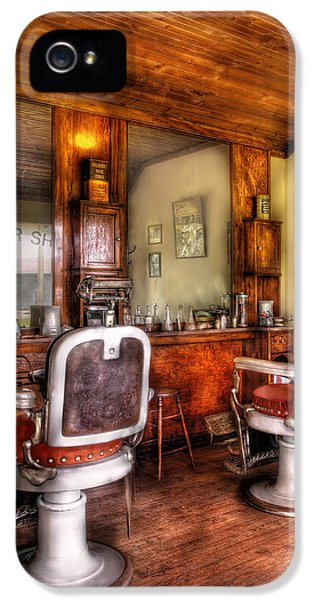 Barber - The Barber Shop II IPhone 5 Case by Mike Savad