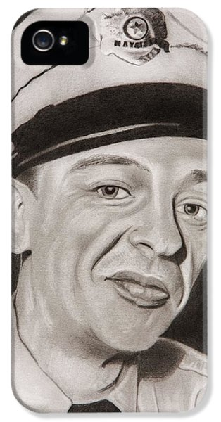Barney Fife IPhone 5 Case by Brian Broadway