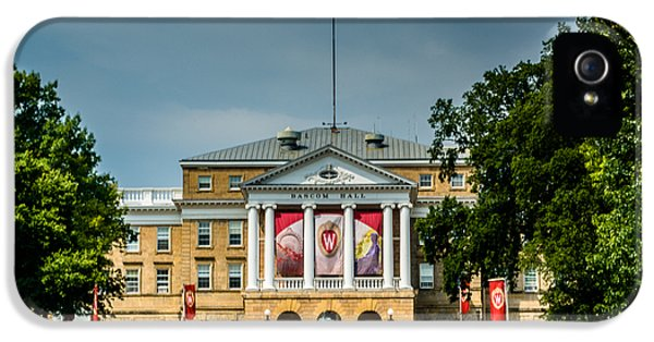Bascom Hall IPhone 5 Case by Randy Scherkenbach