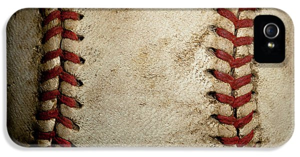 Baseball Seams IPhone 5 / 5s Case by David Patterson