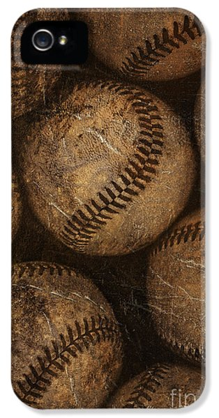 Baseballs IPhone 5 Case by Diane Diederich