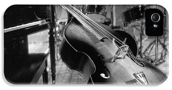 Bass Fiddle IPhone 5 Case by Tony Cordoza