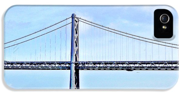 Architecture iPhone 5 Case - Bay Bridge by Julie Gebhardt