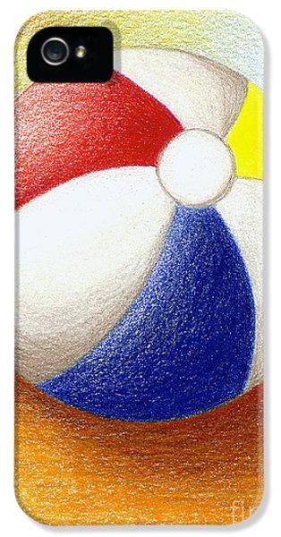 Beach Ball IPhone 5 Case by Stephanie Troxell