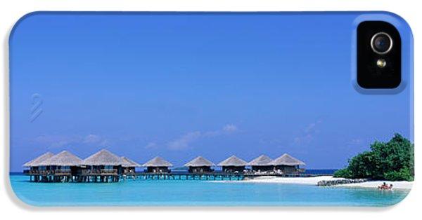 Beach Cabanas, Baros, Maldives IPhone 5 Case