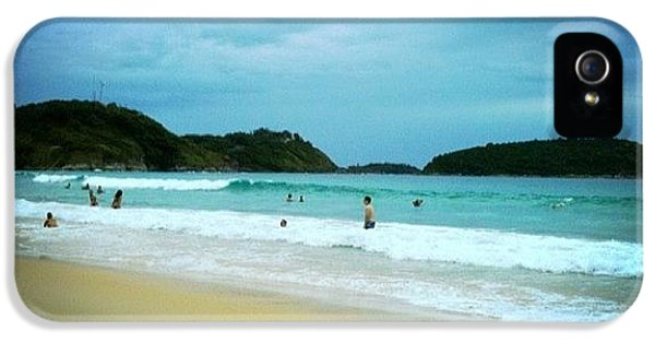 Beautiful iPhone 5 Case - #beach #phuket #thailand #naiharn by Georgia Fowler