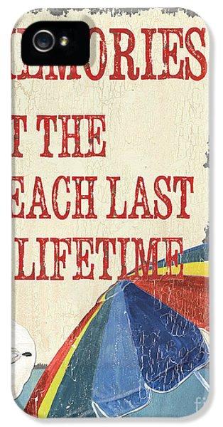 Beach Time 3 IPhone 5 Case by Debbie DeWitt