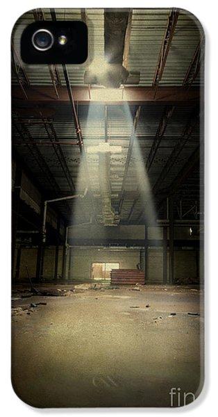 Damage iPhone 5 Case - Beam Me Up by Evelina Kremsdorf